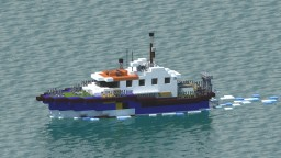 SP Pathfinder - Pilot boat [+Download] Minecraft