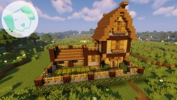 Fortified Starter house With tutorial Minecraft Map & Project