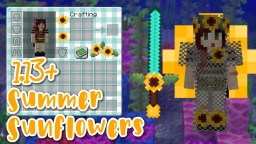 Summer Sunflowers - PVP Add-On Pack Minecraft Texture Pack