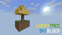 LuckyTree SkyBlock - Minecraft Bedrock Edition Minecraft Map & Project