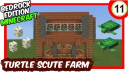 Elegant Turtle Scute & Sea Grass Farm Minecraft Map & Project