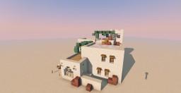 Sandstone House - Desert Minecraft Map & Project