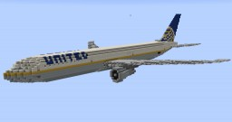 F'n'A Gaming Boeing 767-400ER United Airlines Minecraft Map & Project