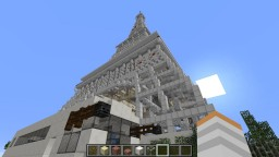 Paris, la ville de l'amour. Full city Minecraft Map & Project