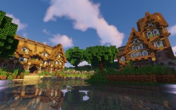 Grimston on the water Minecraft Map & Project