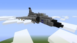"JA-37 ""Viggen"" Minecraft Map & Project"
