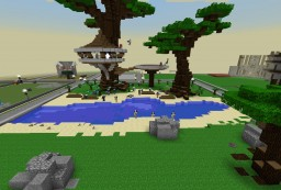 My plot on the Armourer's Workshop Server Minecraft Map & Project