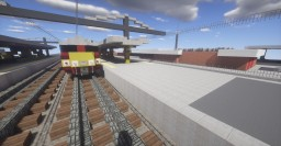 Boom Train Station WIP Minecraft Map & Project