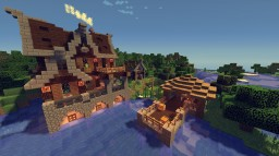 Medieval Mansion #11 Minecraft Map & Project