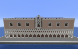 Doge's Palace { Venice   WITH FULL INTERIOR Minecraft Map & Project