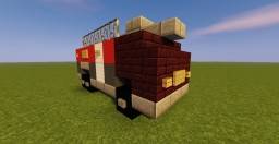Rosenbauer PANTHER 6x6 Fire Truck Minecraft Map & Project