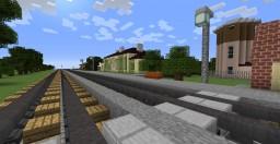 Latvian railway line Minecraft Map & Project