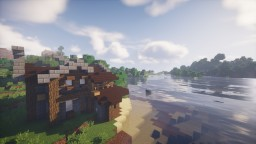 Rustic Beach House Minecraft Map & Project