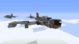 "P-80 ""Shooting Star"" Minecraft Map & Project"