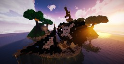PIRATE SHIP - BLACK PEARL & ISLAND SKULL Minecraft Map & Project