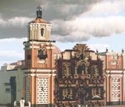 Basílica y convento de Nuestra Señora de la Merced de Lima Minecraft