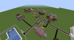 A Real World City Minecraft Map & Project