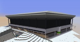 WORLD RECORD LARGEST STADIUM IN MINECRAFT Minecraft