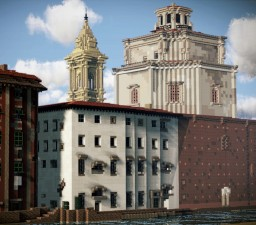 Chiesa di Santa Caterina da Siena, Livorno, Italy Minecraft Map & Project