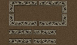 Walkway-Wall Patterns Minecraft Map & Project