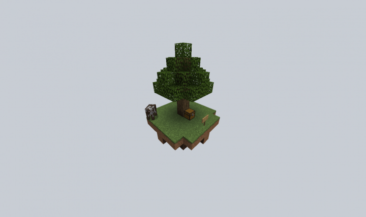 Default Skyblock island