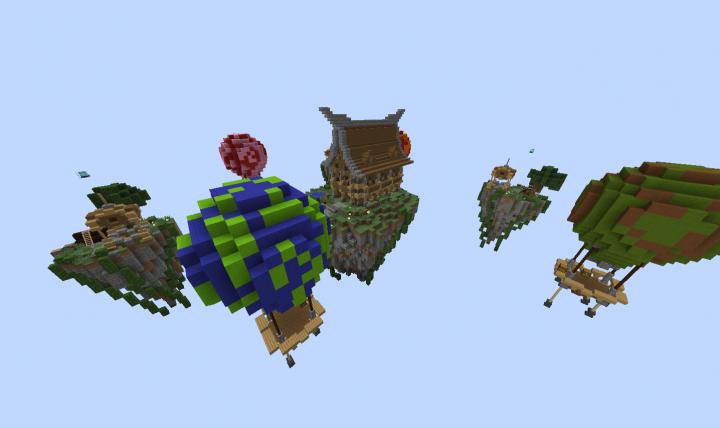 """Balloons"" Skywars map"