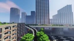 NZTB Ville sur Serveur Creatif moderne privé Minecraft Map & Project