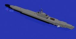 Balao class submarine Minecraft Map & Project
