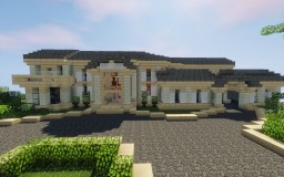 Mediterranean Mansion 3 - Private Isles Minecraft Map & Project