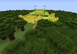 The Golden Castle Minecraft Map & Project