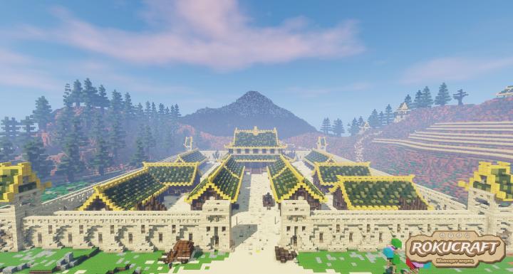 Mining Village at day