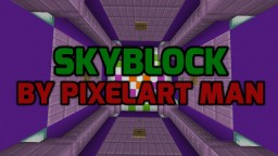New SkyBlock Map For Minecraft 1.13 (By PixelArt Man) Minecraft Map & Project