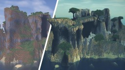 EXTREME Amplified World Transformation Minecraft Map & Project