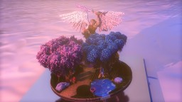 Fantasy Tree's + Organic Angel! Minecraft Map & Project
