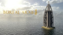 برج العرب  (Burj Al Arab) 7 Star Hotel Minecraft