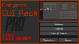 Compers GUI-Pack PRO [1.13.1 | 1.13] Minecraft Texture Pack