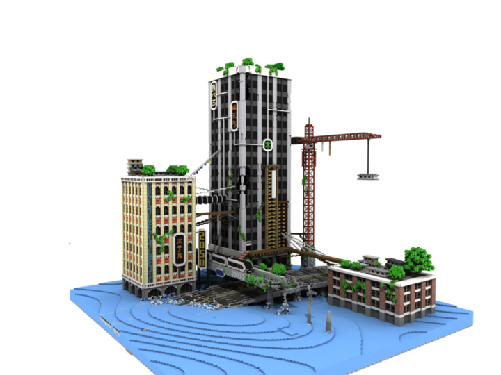 Popular Project : 2050 - The Submerged City [For the Skyscraper Project Contest]