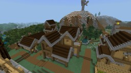 Crescent Town Minecraft Map & Project
