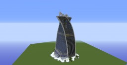 FTT- Futuristic Twisted Tower Minecraft Map & Project