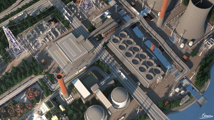 Popular Project : Big ol' Power Plant