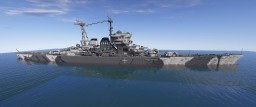Project 66 Heavy Cruiser Minecraft Map & Project