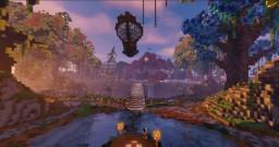 Fantasy TreeLands island ( Spawn / Hub ) Minecraft Map & Project