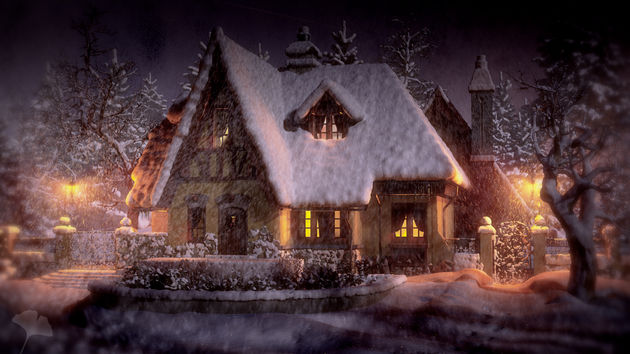 Popular Server Project : Re-creation: Snowy Cottage