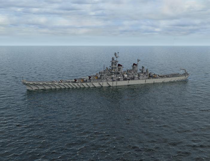 Popular Project : USS Missouri ver.2018