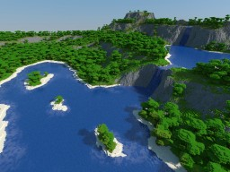Plivitica Lakes Minecraft Map & Project