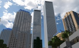 REALISTIC ORIGINAL WORLD TRADE CENTER 1:2 SCALE Minecraft