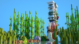Skyscraper Solo Minecraft Project Contest -  Skyscraper on a snail Minecraft Map & Project