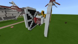 Iden Versio's TIE fighter Minecraft Map & Project