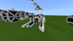 TIE Interceptor Minecraft Map & Project