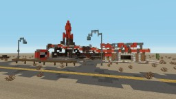 Fallout - Red Rocket Truck Stop (Built on PS4) Minecraft